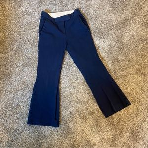 Michael Kors Fit & Flare Navy Trouser